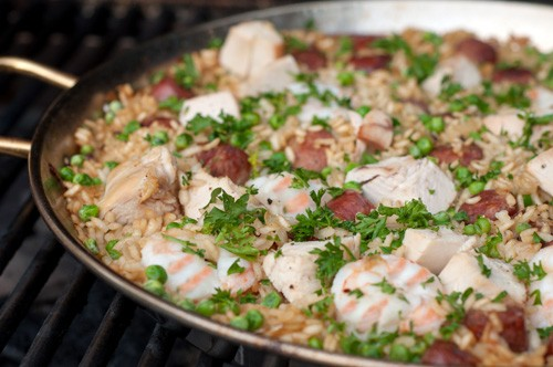 Paella-on-the-Grill