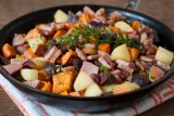 Potato-and-Apple-Hash-with-Canadian-Bacon