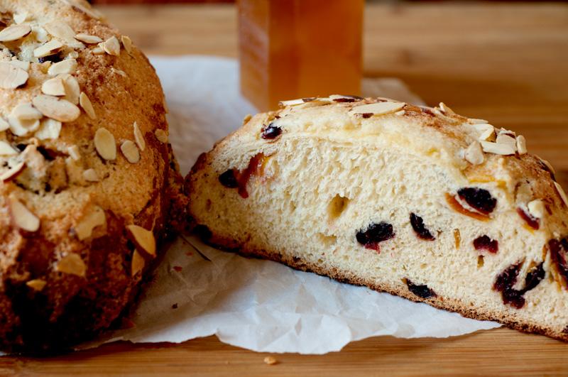 Traditional Italian Colomba Bread