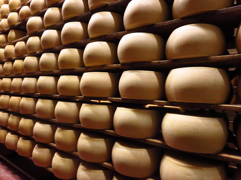 Emilia Romagna: Parmigiano Reggiano