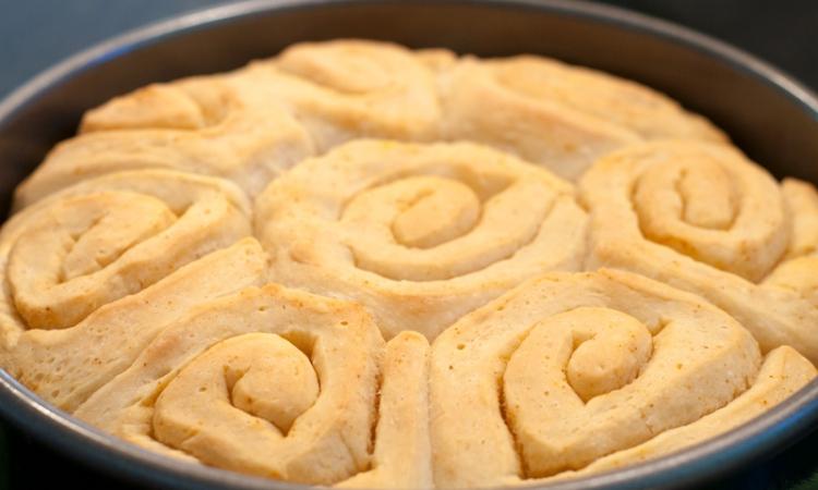Soft Buttery Sourdough Dinner Rolls