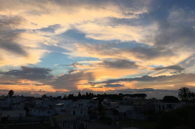 salento-puglia-italy-sunset-behind-palazzo-bacile-spongano