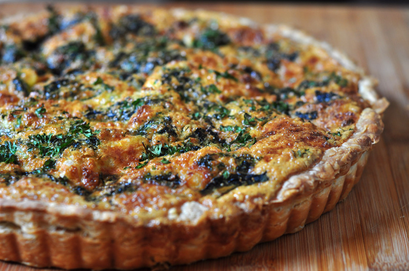 Quiche - And How To Manage Leftovers for Zero Waste