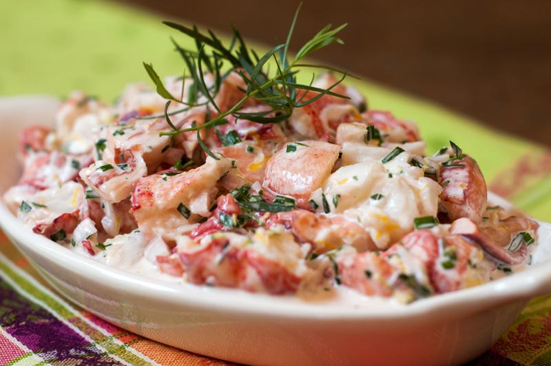 Tarragon Lobster Salad
