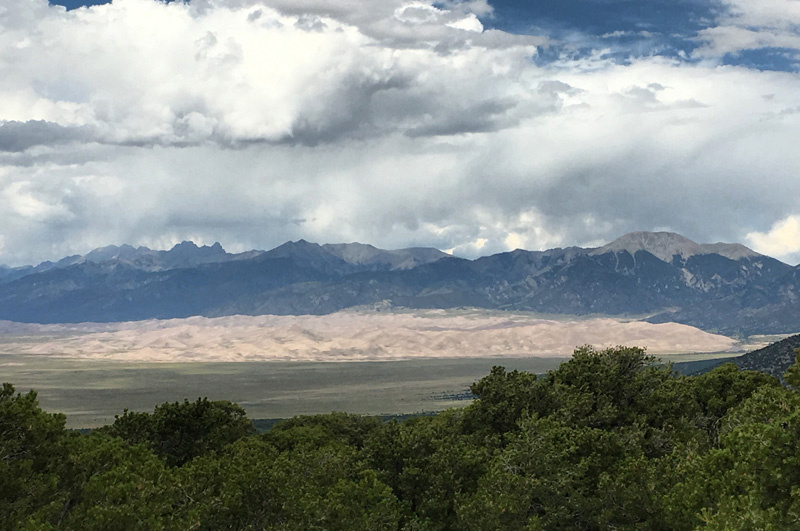 SW Colorado - Mesa Verde and Great Sand Dunes National Parks