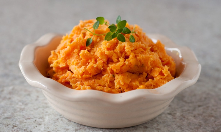 Boursin Sweet Potatoes