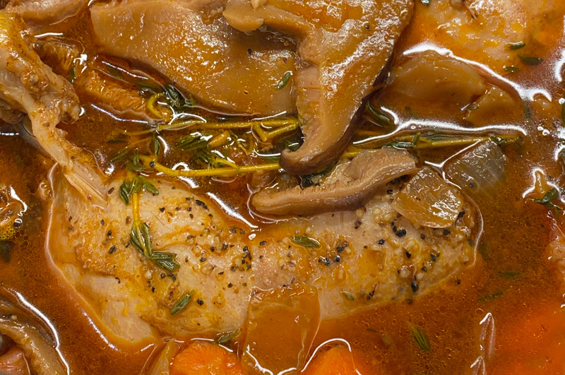 Fast and Easy Instant Pot Coq Au Vin