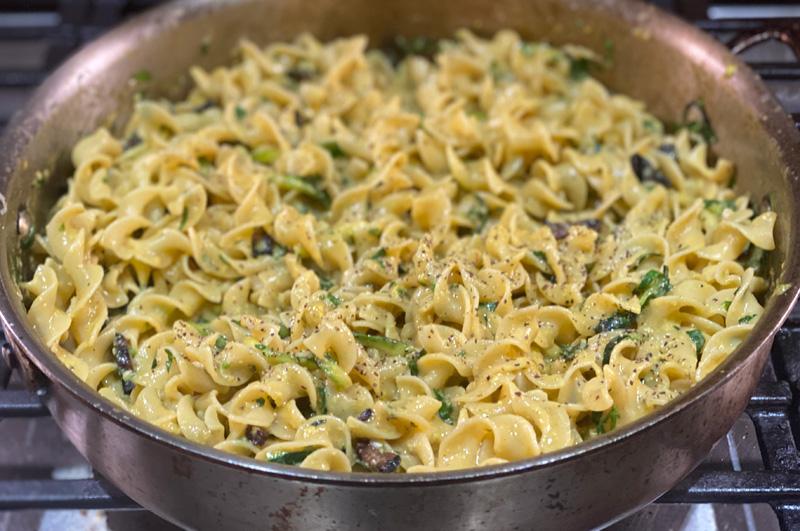 Missing Rome - Pasta Carbonara with Zucchini
