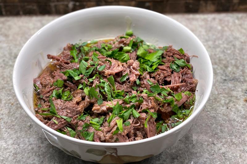 Mississippi Beef or Bison Roast