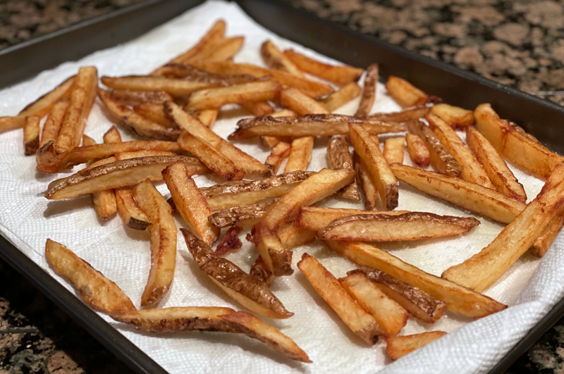 Cold Fry Technique for French Fries